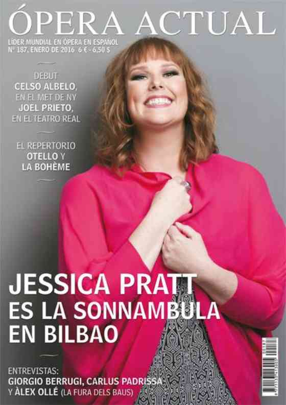Jessica Pratt featured in Ópera Actual: Ópera Actual: Cover & Feature
