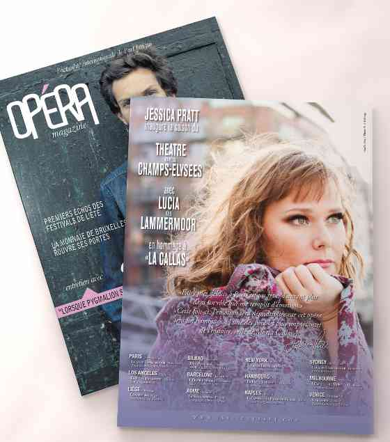 Jessica Pratt featured on Opéra Magazine