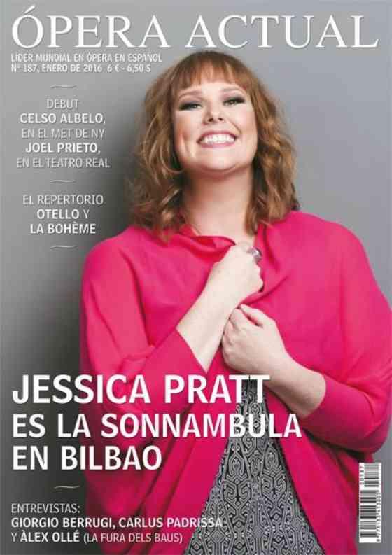 Jessica Pratt featured in Ópera Actual: Ópera Actual: Cover & Feature